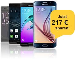 Smartphone-Wochen: Mit Top-Handys sparen!