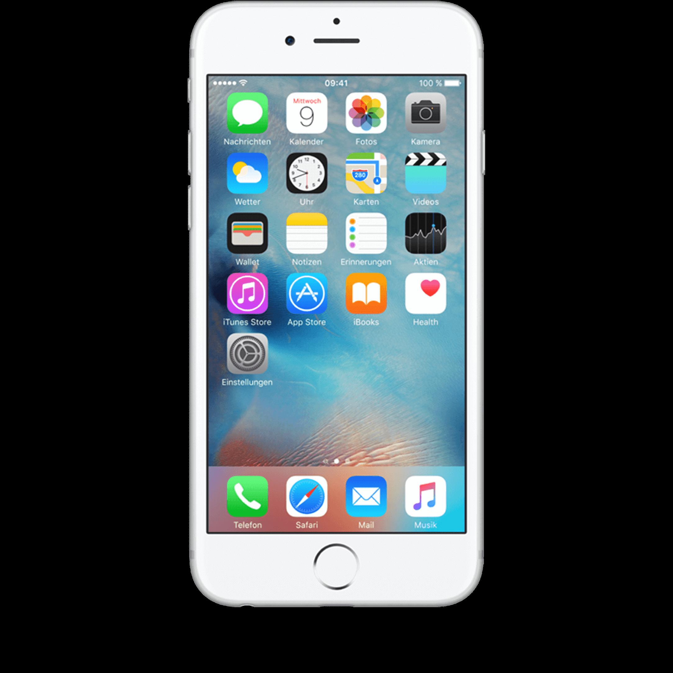 Apple iPhone 6s 32 GB silber mit Smart Flex
